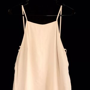 FOREVER 21 Dresses - Forever21 Mini Dress Beige Size Small